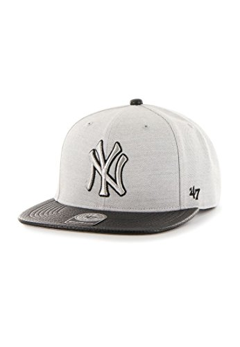 Casquette 47 Brand – Mlb New York Yankees Snapback gris/noir taille: OSFA (Taille pour tout)