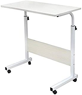 Vixzero Adjustable Lap Table Portable Laptop Mobile Computer Stand Desk 60x40 cm Carriage Tray Side Table for Bed Sofa Hos...