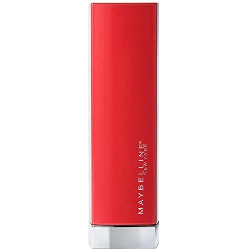 Maybelline New York - Color Sensational Made For All, Barra de Labios Mate, Tono 382 Red For Me Color