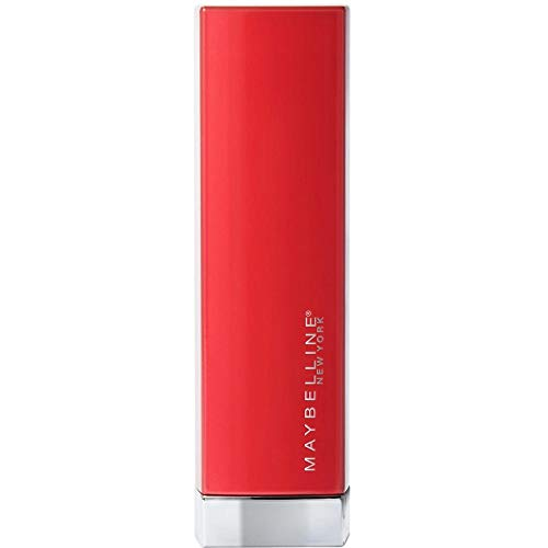Maybelline New York - Color Sensational Made For All, Barra de Labios Mate, Tono 382 Red For Me Color