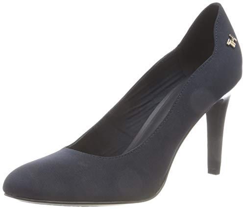 Tommy Hilfiger Layla 32d, Zapatos Mujer, Azul, 38 EU