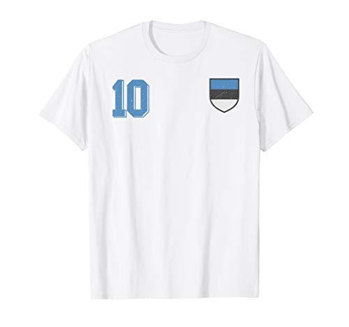 Estland, Estonia or Eesti Fußball or Football Soccer Trikot T-Shirt