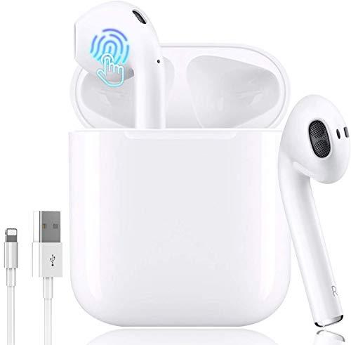 Bluetooth Kopfhörer,In-Ear Kabellose Kopfhörer,Bluetooth Headset,Sport-3D-Stereo-Kopfhörer,mit 24H Ladekästchen und Integriertem Mikrofon Auto-Pairing für Android/iPhone/Samsung/Apple AirPods Pro