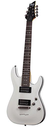 Schecter Omen-7 Vintage White 2067 Electric Guitar