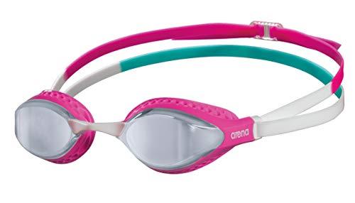ARENA Unisex-Adult AIR-Speed Mirror Schwimmbrillen, Silver-PINK-Multi, NS