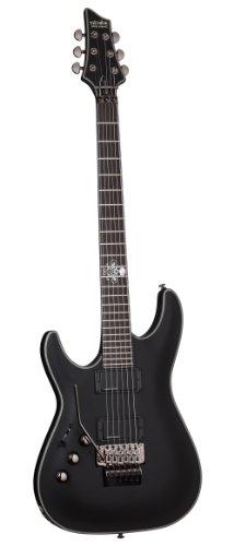 Schecter Blackjack Slim Line Serie C-1 FR 6-Saiter E-Gitarre (See-Thru Blue Burst, mit aktiven Tonabnehmer BLACKJACK SLS C-1 FR A LH SBK
