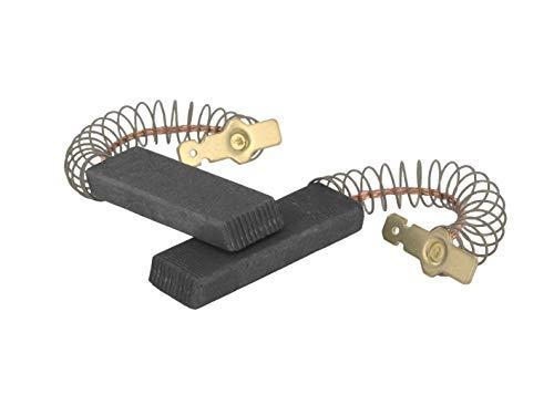 DL-pro Carboncini per motore adatto per Bosch Siemens Neff Constructa, come 00154740, 12,3 x 4,8 x 35 mm, 4,8 mm, AMP per lavatrice