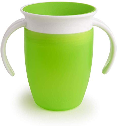 Munchkin Miracle 360 ° Tazza (207 ml, colore: verde)