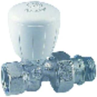 Giacomini - Grifería gas de radiador - Válvula recta R422TG 3/8 - : R422X132