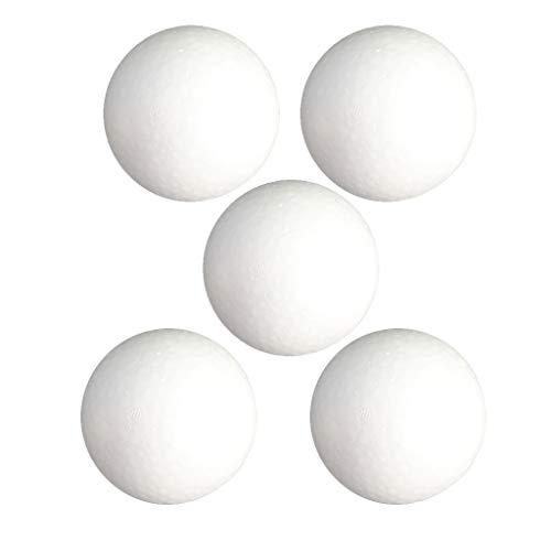 Dailymall 5 bolas de espuma de poliestireno, esferas ornamentales para modelar manualidades de 120 mm