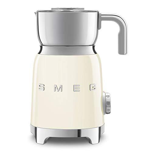 Smeg 50's Retro Style Aesthetic Milk Frother, MFF01 (Cream)