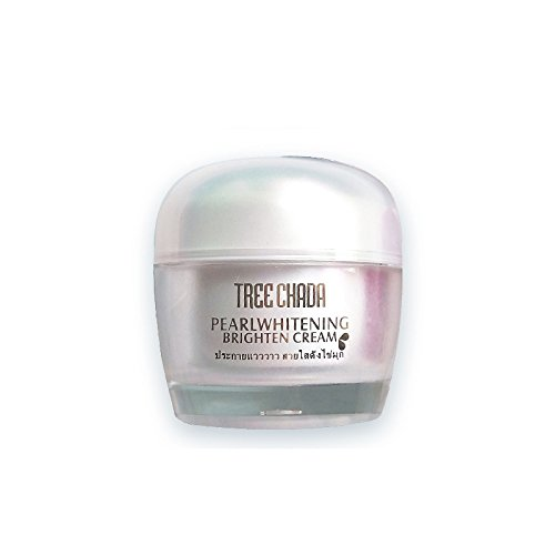 Thailand TREECHADA Pearl Toning Up Cream, Moisturizing Invisible Pores All In One Anti-wrinkle and UV-defence Radiance Cream