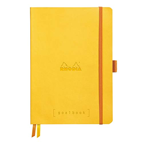 Rhodia Goalbook Journal, A5, Dotted - Daffodil Yellow