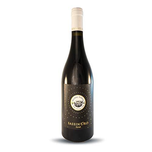 Vino Rosso Toscana IGT - Sassinoro Riserva 2018 - Monte Solaio - Syrah in purezza - Bottiglia 0,75 L