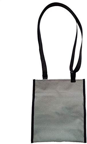 WANGPP Tragbare Katheterbeutel Auslauftaschen-Halter-Abdeckungen, Inkontinenz Kit mit verstellbarem Schulterriemen Waschbar und Wiederverwendung 7.30 (Color : Grey, Size : 1000ml)