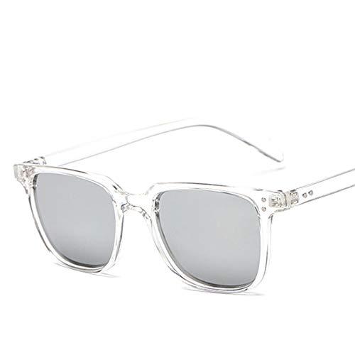 Sunglasses Gafas de Sol de Moda Hombres Gafas De Sol Cuadradas Deportes Al Aire Libre Gafas De Conducción Gafas Vintage