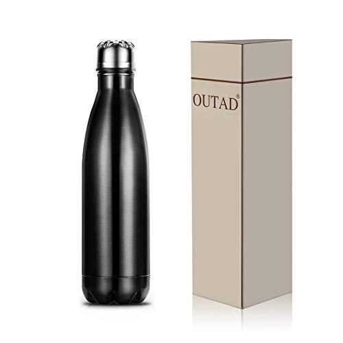 Momorain 500 ml Umweltfreundliche Kaffee Tee Bowling Isolierte Edelstahl Flasche Isolierflasche Geschenk für büro Zu Hause Reise Verwenden