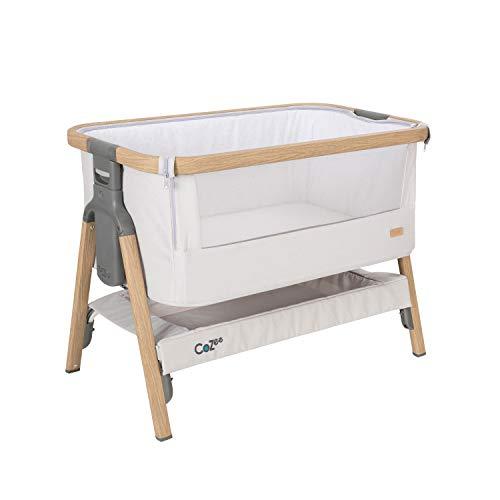 Todos los niños 2112053596 Cuna Cozee para acompañar a la cama Silver