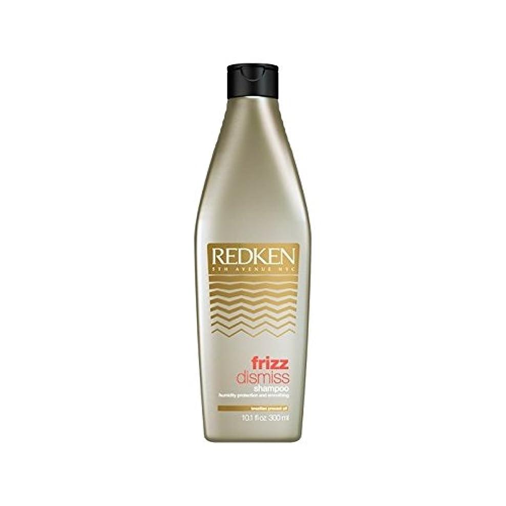 うん冷蔵するサイレントレッドケン縮れシャンプー(300ミリリットル)を解任 x2 - Redken Frizz Dismiss Shampoo (300ml) (Pack of 2) [並行輸入品]