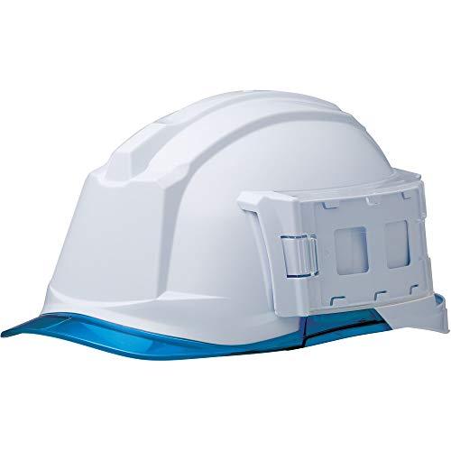 ミドリ安全 ヘルメット 一般作業用 電気作業用 IDケース付 SC-19PCL-ID RA3 αライナー付 ホワイト ブルー