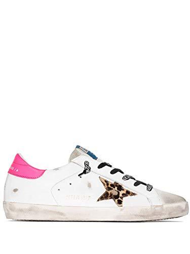 Moda De Lujo | Golden Goose Mujer Gwf00101F00011580164 Blanco Cuero Zapatillas | Temporada...