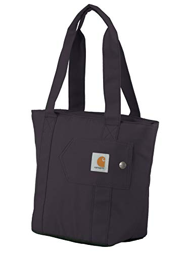 Carhartt Women's Insulated Lunch Cooler Tote Bag, Wine