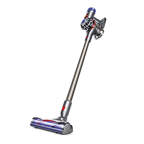 Dyson V7 Motorhead HEPA Cordless Vacuum, Iron/Purple (Renewed)