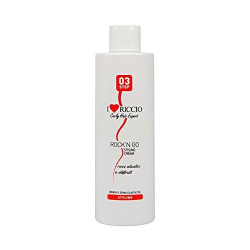 I love riccio Rock'n Go Styling Cream crema elasticizzante per capelli ricci definiti e idratati