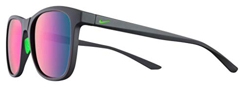 Nike Injected Sunglasses Matte Anthracite/Teal Mirror