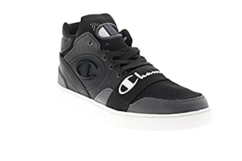 Champion Mens Hype Cup Mid Black Lifestyle Sneakers Shoes 9
