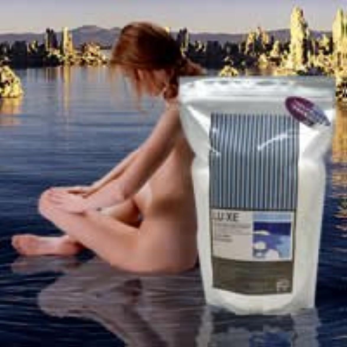 掃く悪行マリナーラグゼ デッドシー バスソルト  2kg×2個セット  LUXE DEAD SEA BATH SALT LU:XE  ラグゼ