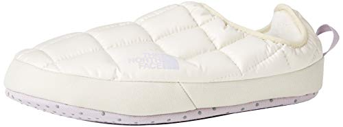The North Face W Thermoball TNTMUL5, Zapatillas de Senderismo Mujer, Blanco Vintage Wht Iris Lavanda H62, Medium EU