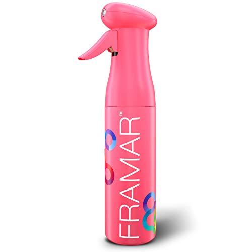 Framar Pink Premium Hair Spray Bottle Continuous Mist, Water Spray Bottle For Hair, Atomizer Spray Bottle, Spray Water Bottle, Plant Mister Spray Bottle, Fine Mist bottle, Face Spray Bottle