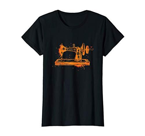 Mujer Artesanía De La Costura - Costurera De La Máquina De Coser Camiseta