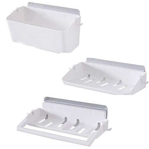 SLINGDA handdoekenrek badkamer plank muur badkamer toilet opslag zuignap muur type zonder spoor wassen stand afwerking hoek beugel