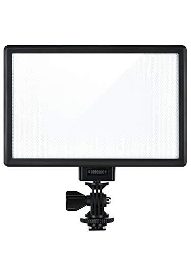 Luce per fotografia Led Video Light Ultra Thin Lcd Bi-color & Dimmable Led Light Lamp Panel For Camera Dv Camcorder