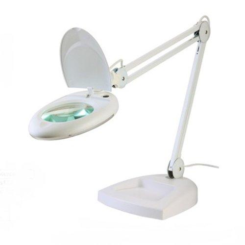 LAMPADA LABORATORIO ESTESTISTA ZD-140 DA TAVOLO CON BASE LENTE 5 DIOTTRIE 80 LED
