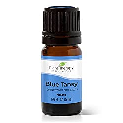 Plant Therapy Blue Tansy Essential Oil | 100% Pure, Undiluted, Natural Aromatherapy, Therapeutic Grade | 5 milliliter (1/6 ounce)