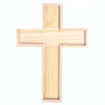 Holz-Kreuz 22,5x16,5x2cm [Spielzeug]