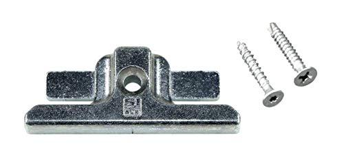 SI Siegenia Aubi Schließblech Schliessplatte 4510 oder A4510 (FRSB0220-100080) incl. SN-TEC Montagematerial