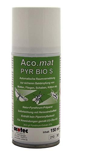 ACO MAT PYR BIO S Nebelautomat gg. Motten, Schaben, Käfer, Ameisen, Flöhe uvw. Insektizid Nebel