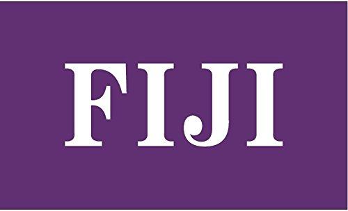 Greek Star Fiji Phi Gamma Delta Official 3' X 5' Flag