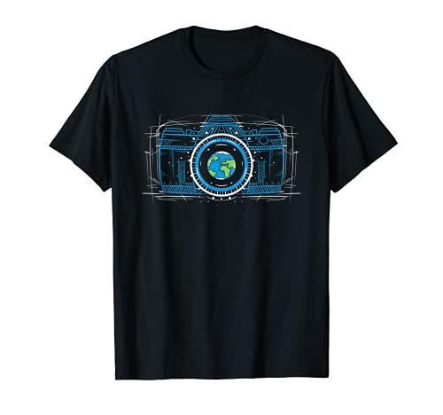 Fotografía Foto Fotográfica - Cámara Flash Fotógrafo Camiseta