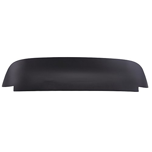 Pre-painted Roof Spoiler Compatible With 1992-1995 Honda Civic, Duckbill Style Painted Matte Black ABS Rear Wind Spoiler Wing Other Color Available By IKON MOTORSPORTS, 1993 1994