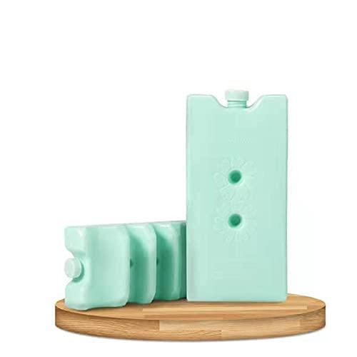GSDJU 2 Piezas Almacenamiento de Alimentos Frescos Gel congelador Bloques de Hielo Reutilizable Cool Cooler Pack Bag inyección de Agua Picnic Travel Lunch Box