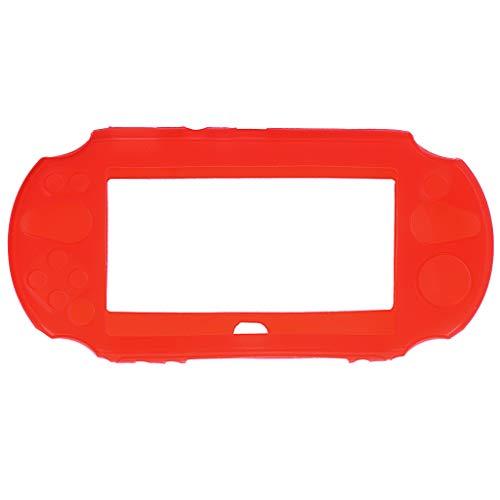 MALLdor Silicone Rubber Soft Protective Case Cover Compatible for So-ny Playstation PS Vita 2000