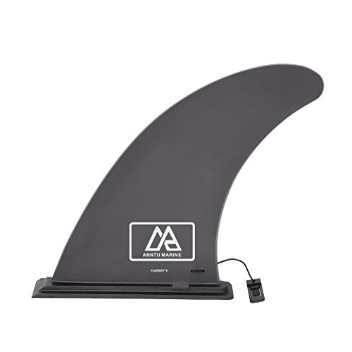 ANNTU Surfing SUP Fins, Center Paddle Board Fin, 9 Feet Surf Stand up Paddleboard Slide in Fins-Quick Install and No Screw & Tool Needed -for Paddle Board, Longboard & Paddle Board