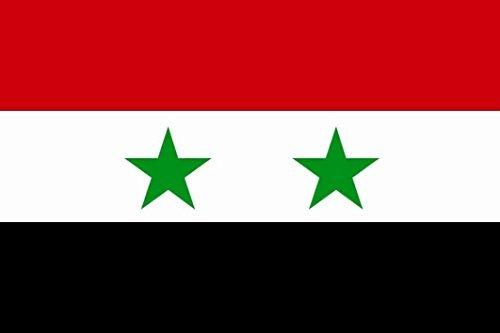 U24 Fahne Flagge Syrien 60 x 90 cm