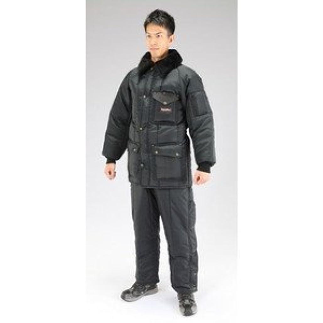 風が強いのヒープ司教[ XL] 防寒服上下セット(Navy) EA915GM-8