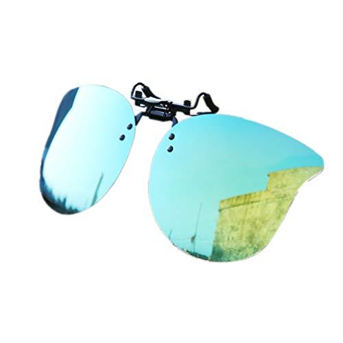 NAVARCH Clipon gafas de sol sobre Prescripción gafas polarizadas tirón encima de las gafas de sol para Unisex-adulto Color2